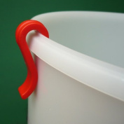 Bucket Clip (Red) for use with Simple Syphon