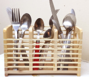FunkyBuys® Woodware Cutlery Holder Kitchen Utensil Rack Storage SYWD-511