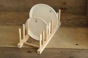 EQLEF® Bamboo Dish Rack