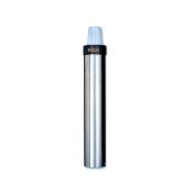 San Jamar C3400E Stainless Steel Vertical Surface Mount Beverage Cup Dispenser, Fits 350ml to 710ml Cup Size, 7cm - 9.8cm Rim, 60cm - 1.3cm Tube Length