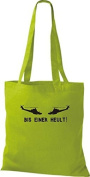Jute Fabric ShirtInStyle Bis einer Heult Helicopter Assorted Colours