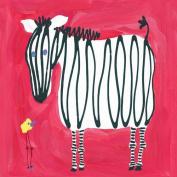 Oopsy Daisy Zebra & Bird Stretched Canvas Art by Stephanie Bauer, 80cm by 80cm
