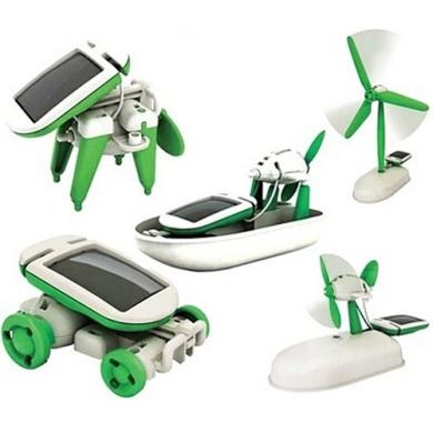 6 in 1 Solar Toy
