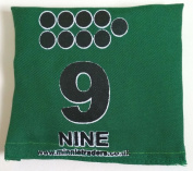 New Kids Indoor/Outdoor Fun Game Educational Printed Number & Dots Bean Bags 0-9