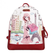 Nicole Lee Fashion Backpack, Shopping Girl, One Size