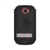 TRIDENT AMS-VILLE-RD HTC One S Kraken AMS Case - 1 Pack - Retail Packaging - Red