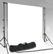 Professional Photo Studio Kit With Free Backdrop!