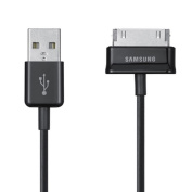 Genuine Samsung Galaxy Tab 30 - Pin USB Data Cable Charging Charger Sync Lead For Samsung Galaxy Tab P1000 P1010 P7500 P7510 P7300 P7310 P5110 2 7.0 10.1 8.9 + iSOUL® Mobile Case / Cover