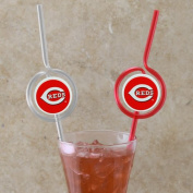 MLB Team Sipper Straws