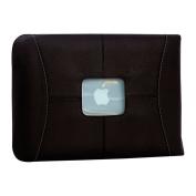 MacCase Premium Leather 33cm MacBook Sleeve - Black