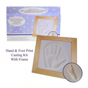 Baby Handprint & Footprint Plaster Casting Kit - Great Gift Set!