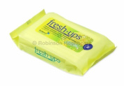 Fresh Ups Moist Wipes Citrus Lemon 20's X 12,