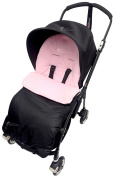 Universal Footmuff To Fit Bugaboo Bee Light Pink