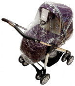 Universal Raincover To Fit Silver Cross 3D Pushchair