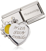 NominatioN COMPOSABLE Classic CHARMS (Heart and Sun) 031700-28
