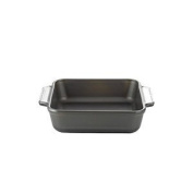 Anchor Hocking 91827 2 Litre Tempered Glass Square Cake Dish with Non-Stick Coating, Grey