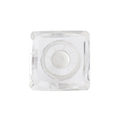 Glass Door Knob Square Clear
