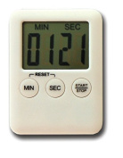 Countdown Timer - Pocket Sized Slimline Kitchen count up and count down