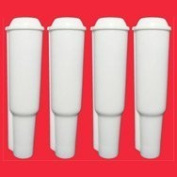 4 Water Filter Cartridges (pluggable) for Jura coffee machines
