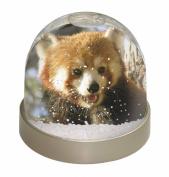 Red Panda Bear Snow Dome Globe Waterball Gift