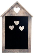Vintage Heart House Magnetic Memo Chalk Board with Magnets