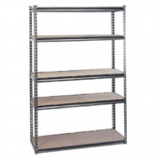 Draper Expert 21663 1,220 mm x 450 mm x 1,830 mm Heavy-Duty Steel Shelving Unit with 5 Shelves