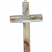 Wall Hanging Wood Cross 12cm Olive Wood Wall Cross From Bethlehem