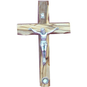 12cm Catholic Cross Crucifix With Holy Land Stone For Wall Gift