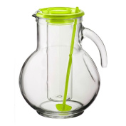 Bormioli Rocco Kufra Jug Ice Container with Lid, Green
