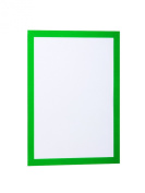 Durable Magaframe 487205 Magnetic Self-adhesive Display Frame A4 - Green