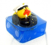 Fun kid's soap, Marines Duck Armed Forces bath soap, Ocean scent