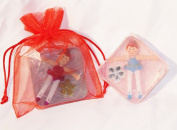 Ballerina Square Toy Embeded Glycerin Soap
