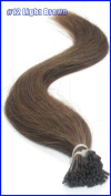 20inch Micro Ring Links Locks Beads Keratin Stick I Tip Remy Human Hair Extensions 50g 100s/pack