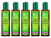 Lot of 5 Reshma Henna Oil Treatment for Normal Hair