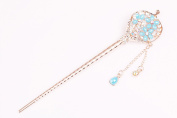 Fashion Lady Alloy Tassel Hair Accessory Decorative Hair Pin Stick Fork for Long Hair