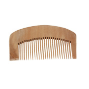 Anself Retro Peach Wooden Wood Comb Health Care Hair Anti-static Massage Comb Haircare Hairbrush Popular Natural