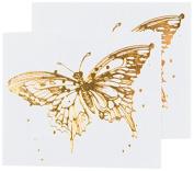 Tattly Temporary Tattoos, Flit/Gold, 5ml