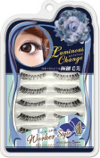 Japan Eyelash Extensions 5 Pairs Lm5-04 Worker Style From Japan Cosmetics Luminous Change