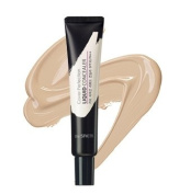 The Saem Cover Perfection Liquid Concealer 01 Clear Beige