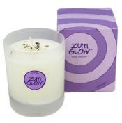 Indigo Wild Zum Glow in a Glass Candle, Lavender Zum