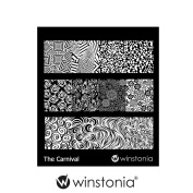Winstonia Nail Art Stamping Image Plate - The Carnival