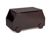 Delta Children Metro Toy Box, Black Cherry Espresso