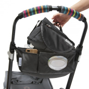 CityStroll 2-in-1 Stroller Organiser /Caddy & Take with You Shoulder Bag