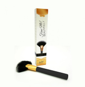 #1 Pro Fan Makeup Brush on Amazon! Professional Makeup Artist Approved - Perfect for Powder, Blush, Highlighting & Contouring. From Be You! Beautifully - Guaranteed.
