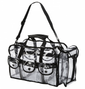 Seya Makeup Artist Clear PVC Set Bag w/ Removable Shoulder Strap