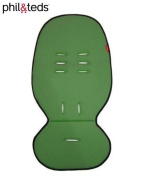 Phil & Teds Cushy Ride Main Seat Liner Pad in Wasabi Green