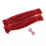 Caryko Tinsel Creative Arts Chenille Stems 6 mm x 12 Inch, Pack of 200
