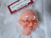 Grandma/ Mrs Claus Doll Head