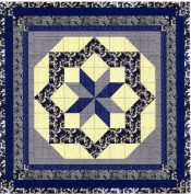 Easy Quilt Kit Constellation/Classic Navy
