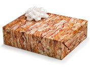 2 Sheets Crispy Bacon Gift Wrapping Paper